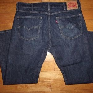 LEVI LEVIS 505 REGULAR FIT MEN'S JEANS 38 X 30